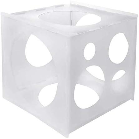 バルーンサイザーボックスバルーンサイズ測定ツールバルーンボックス用キューブボックス結婚式誕生日パーティー用 バルーンサイズ測定ツール