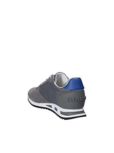 8SMEMPHIS05 Uomo Sneakers Grigio Basse Blauer 40 SdqvntaxS4