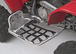 DG Performance 607-2130 - Alloy Nerf Bars with Heel Guard - Aluminum fits Honda TRX 400 EX/X (1999 - 2012)