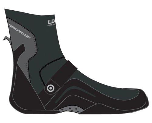 Neil Pryde 5000 High Cut Round Toe Hook & Loop Strap 4mm Wetsuit - Cut Wetsuit High