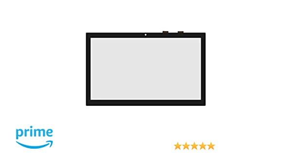 LCDOLED Replacement 15.6 inches Touch Screen Digitizer Front Glass Panel for Toshiba Satellite S55T-C C55T-C C55DT-C C55DT-C5245 S55T-C5263 S55T-C5370 ...