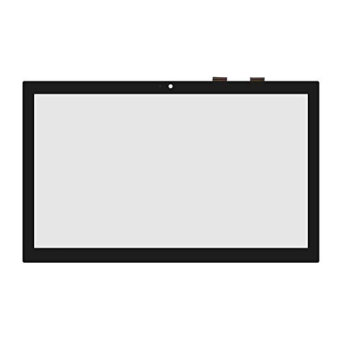 (LCDOLED 15.6 inch Replacement Touch Screen Digitizer Front Glass Panel for Toshiba Satellite S55T-C C55T-C C55DT-C C55DT-C5245 S55T-C5263 S55T-C5370 C55T-C5300 C55T-C5224 C55T-C5400 (No Bezel))