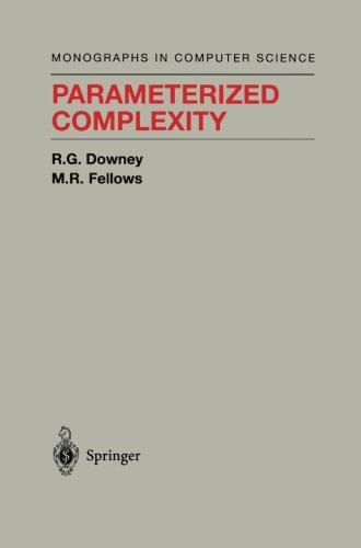 Parameterized Complexity (Monographs In Computer Science)