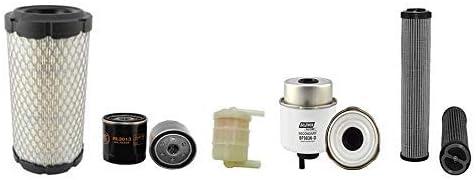 JCB 8018 CTS Filter Service Kit w//Perkins 403D11 Eng.