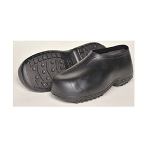 Ice Traction Overshoes, Rubber, 9.5-11, PR