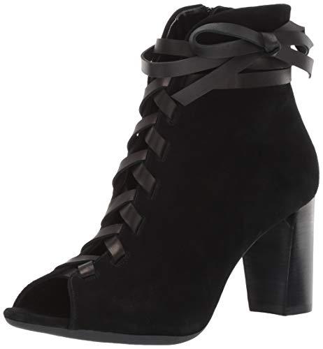 Aerosoles Women's Pretty Bird Fashion Boot, Black Suede, 10 M US