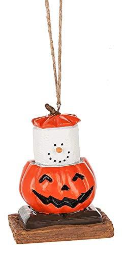 S'mores Original 2017 Pumpkin Jack O Lantern Ornament
