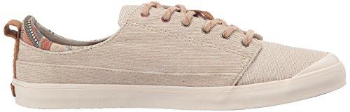 Rif Dames Meisjes Ommuurde Low-tx Fashion Sneaker Kaki