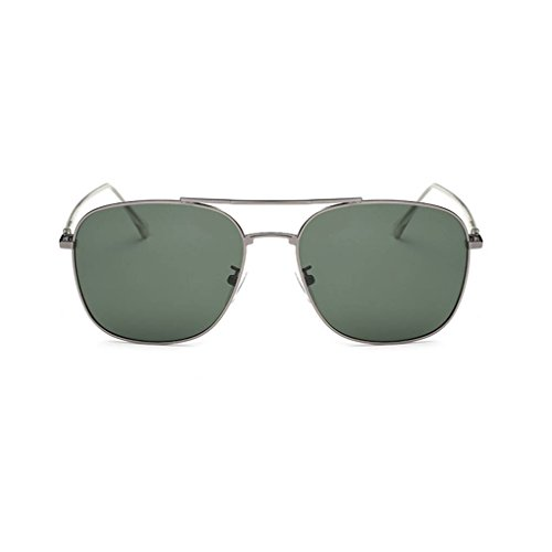 sol Mujeres polarizadas Coolsir protección de Moda forma de unisex Hombres cuadrada gafas de Gafas UV400 4 conducción Gafas qIIPSt