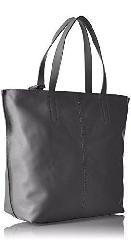 Timberland Tb0a1b2y - Shoppers y bolsos de hombro Mujer Gris (Steel Grey)