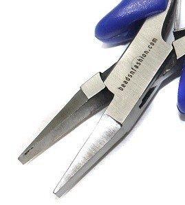 Beadsnfashion beading jewellery making stainless steel flat nose plier