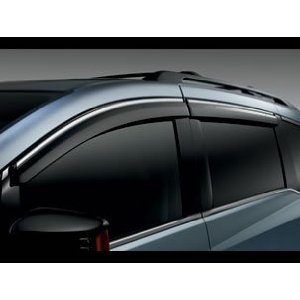 Honda Genuine Factory Door Visors (set of 4 for all doors) - 08R04-TK8-100A; 2011 to 2014 Odyssey