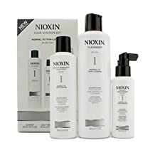 Nioxin - System 1 System Kit For Fine Hair, Normal to Thin-Looking Hair 3pcs