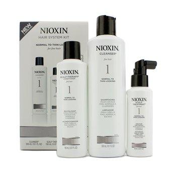 Sistema 1 Kit de iniciación para cabello fino, pelo normal a thin-looking: