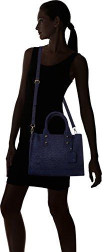 Laura Vita Caracas-anna 11 - Borse Tote Donna, Blau (Bleu), 13x24x40 cm (B x H T)