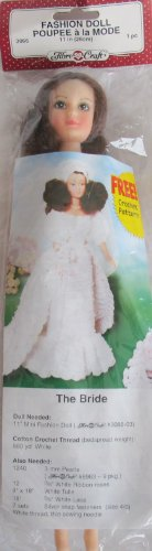 Bride Crochet Pattern - Fibre Craft FASHION DOLL 11