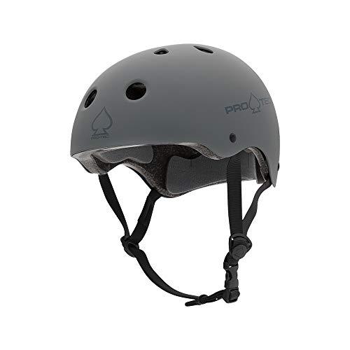 Pro-Tec - Classic Certified Skate Helmet, Gray, L - Classic Mens Snowboard Helmet