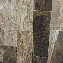 "Marrone Wood Look Stone Look Plank Tile-Spain- 8"" X 24"""