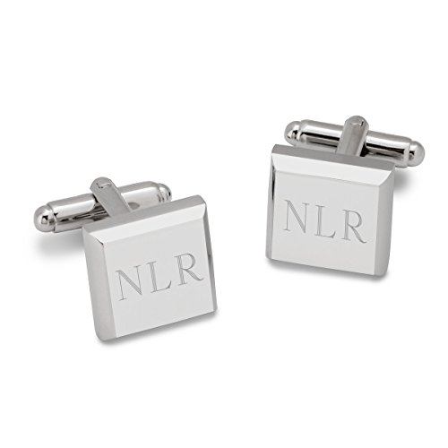 Personalized Modern Square Cufflinks (Personalized Square Cufflinks)