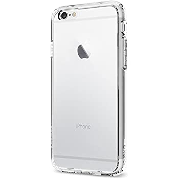 Spigen Ultra Hybrid iPhone 6 Case with Air Cushion Technology and Hybrid Drop Protection for iPhone 6S / iPhone 6 - Crystal Clear