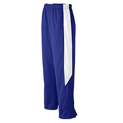 Augusta Sportswear Men's Medalist Pant S Purple/White