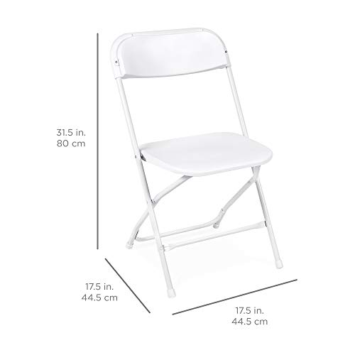 Best Choice Products Plastic Folding Chairs