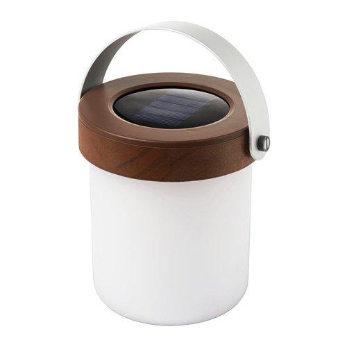 Ikea Solvinden Led Solar Powered Table Lamp Amazon Co Uk Lighting