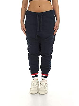 Reebok Classics French Terry Sport Pants for Women Navy Size M (DH1408_Conavy_M)