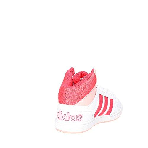 new arrival b6ec9 47fb0 Adidas B74658 Sneakers Alta Bambino BiancoNero 27 Amazon.it Scarpe e  borse
