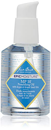 JACK BLACK - MP 10 Nourishing Oil - Argan,Organic Marula and Grape Seed Oils,Moisturizing and Soothing Benefits,Skin & Hair Ointment,Relieves Irritation,Reduces Flakiness,Reinforces Skin Health,2 oz