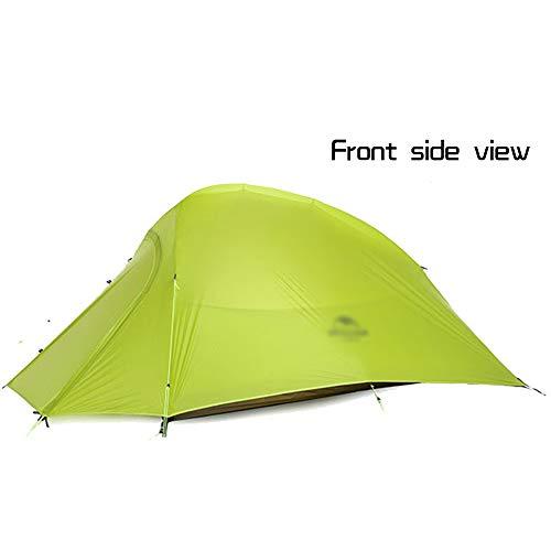 引退するコントラスト追う超軽量キャンプ屋外テントプロフェッショナルダブルダブルレイヤー20Dコーティングシリコンフォーシーズンズユニバーサル (色 : B)