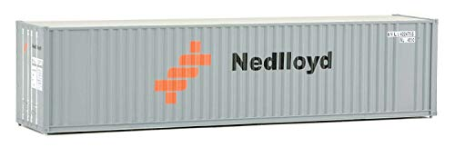 Walthers Trainline 40' Hi-Cube Corrugated Container w/Flat Roof Nedlloyd - Assembled Train Collectable Train