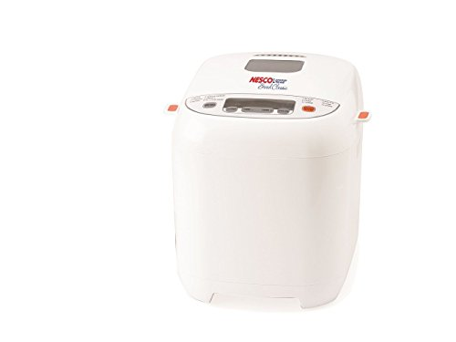 Nesco BDM-110 12-Program Automatic Bread Maker, White