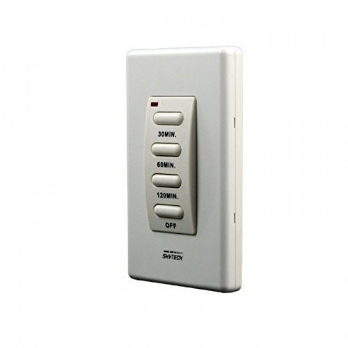 Skytech TM-3 Wired Wall Mounted Timer Fireplace Control by SkyTech