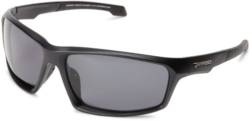 Pepper's Trigger MP523-1 Polarized Sport Sunglasses,Matte Black,One size (Sunglasses Polarized Pepper)