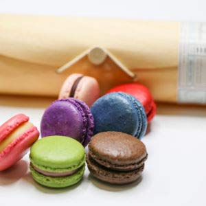 Chocomize Artisan Macaron Collection - 6pcs (French Butter Cookies With Lemon And Almond Recipe)