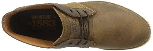 1883 Di Wolverine Mens Julian Crepe Fashion Sneaker Marrone Scuro