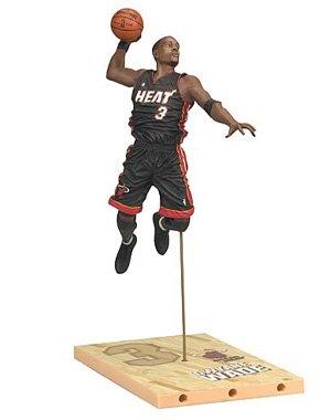 McFarlane Toys NBA Sports Picks Series 17 Dwyane Wade