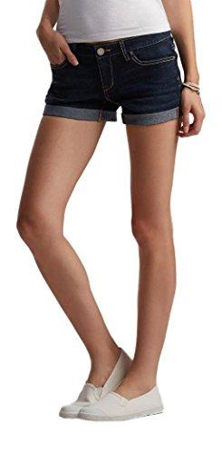 Aeropostale Womens Cuffed Denim Shorts