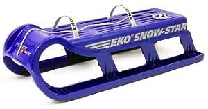 EKO Plastikbob Snow Star, blau, 100x35x37, 3000.51_blau