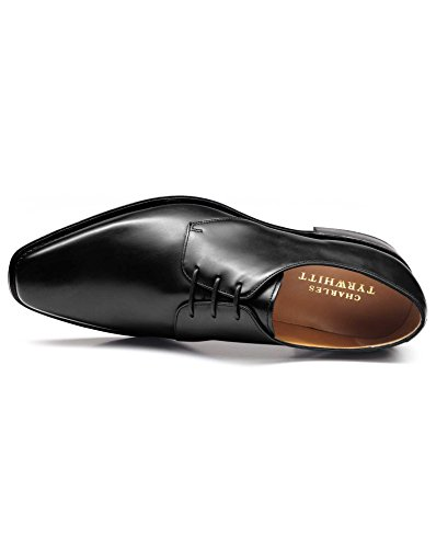 Black Goodyear Welted Derby Shoe by Charles Tyrwhitt Black 5KYit