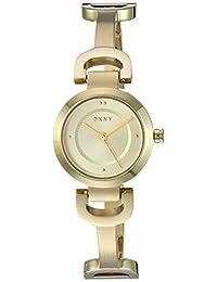 DKNY NY2750 Reloj DKNY Dama, Extensible Acero Dorado, Caratula Dorado, Analogo for Accesorios, Oro, Mujer Estándar