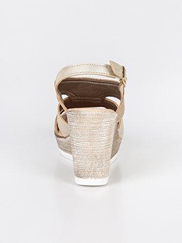 Inblu Inblu Femme Sandales pour Sandales pour Or qExnw18C