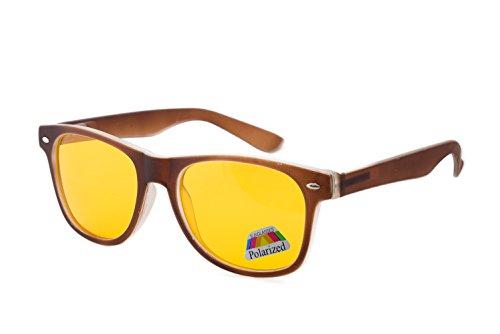 sol Rubi hombre Brown de Polarized morefaz Gafas para 7xOUBn
