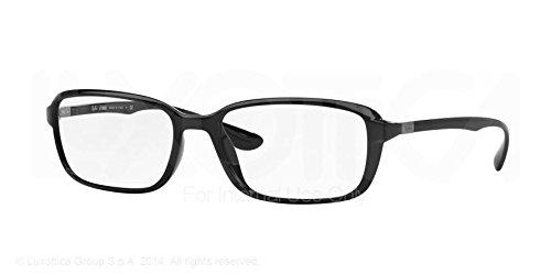 RAY BAN Eyeglasses RX 7037 5206 Black - Ray Ban 5206 Frame