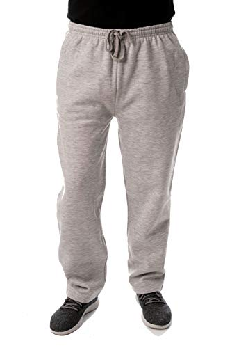 At The Buzzer Mens Sweatpants for Men 34972-GRY-L Grey Casual Lounging Pant Set