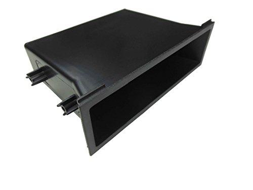 Universal Cd Dash Trim - DKMUS for Nissan Universal Radio Pocket Cd Storage Single Din Install Mounting Dash Trim Kit