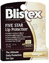 - Blistex Five Star Lip Protection Lip Protectant/Sunscreen SPF 30 - Pack of 6