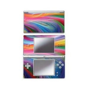 Mightyskins Protective Vinyl Skin Decal Cover Sticker Compatible with Nintendo DS Lite - Rainbow Wave (Ds Vinyl Skin)