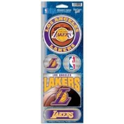 NBA Los Angeles Lakers Prismatic Stickers, Team Color, One Size